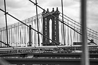 USA, New York City, part of Brooklyn Bridge - ZEF11120