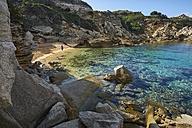 Italy, Sardinia, rock coast at Capo Testa - MRF01650