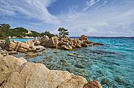 Italy, Sardinia, rock coast at Capriccioli - MRF01659