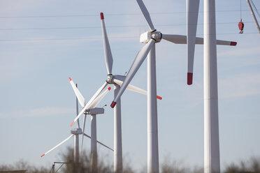 Row of wind turbines - ZEF11525