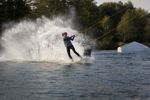 Couple wakeboarding - JTLF00135