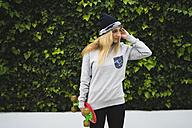 Stylish skateboarder - KKAF00055
