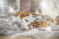 Cinnamon stars, flour, spices and cinnamon powder - ODF01457