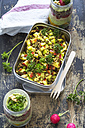 Lunch box of lentil apple salad - ODF01460