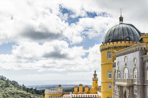 Portugal, Sintra, part of Pena National Palace - CHP00317