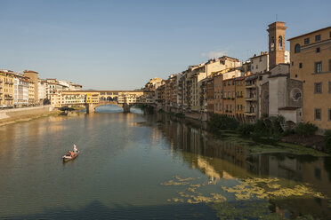 Italy, Florence, Ponte Vecchio and Arno River - PA01732