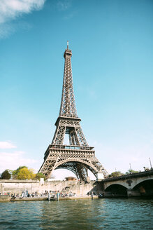 France, Paris, view to Eiffel Tower - GEMF01261