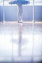Ballet dancer stance - ZEF11770