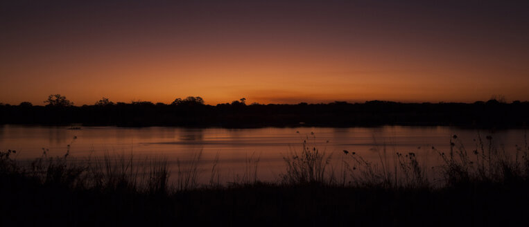 Namibia, sunset at Okavango - MPAF00098