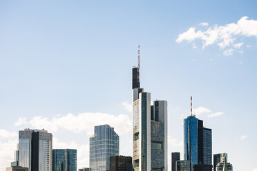 Germany, Frankfurt, view to skyline - KRPF02028
