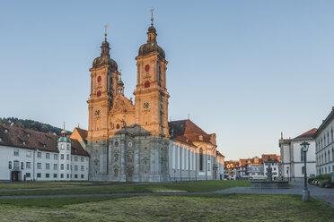Switzerland, St Gallen, view to collegiate church - KEBF00422