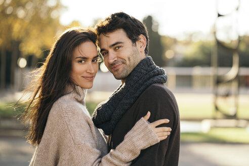 Portrait of couple in love - KKAF00113