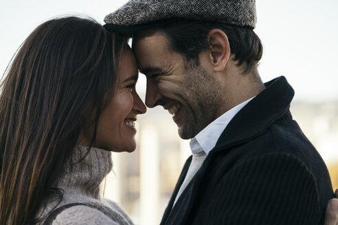Couple in love head to head - KKAF00122