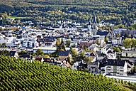 Germany, Bad Neuenahr-Ahrweiler, Town amidst vinyards - CSF27850