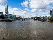 UK, London, cityscape with River Thames and The Shard - AMF05121