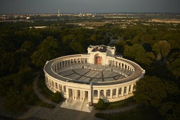 USA, Virginia, Aerial photograph of the Arlington National Cemetery Theater - BCDF00260