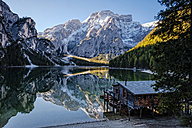 Italy, South Tyrol, Lago di Braies - HAMF00241