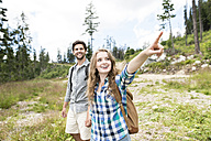 Young couple on a hiking tour - HAPF01185