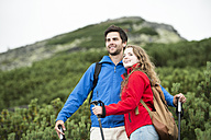 Young couple on a hiking tour - HAPF01200