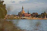 Germany, Constance, Lake Constance, view to Constance minster - SHF01914