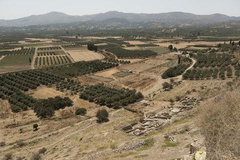 Greece, Crete, fields near Plakias - KAF00182