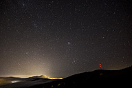 Spain, Tenerife, starry sky over Teide National Park - SIPF01161