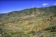 Spain, Tenerife, View into the valley of El Palmar - DSGF01322