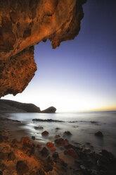 Spain, Almeria, beach at Cabo de Gata Natural Park - DSGF01345