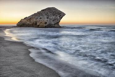 Spain, Almeria, beach at Cabo de Gata Natural Park - DSGF01348