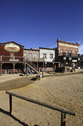 Spain, film set of Wild West town used as location for the 'Once Upon a time in the West' - DSG01357
