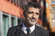 Portrait of confident businessman outdoors - TCF05206