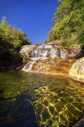 USA, North Carolina, Blue Ridge Mountains, Second Falls - SMAF00627