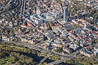 Germany, Jena, aerial view of the city - HWO00170