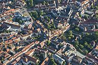 Germany, Erfurt, aerial view of the old city - HWOF00188