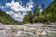 Germany, Bavaria, Wimbach Valley with Wimbach - STSF01172