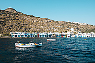 Greece, Milos, Colorful fishermen's village Klima - GEMF01325
