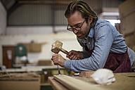 Craftsman working in wood work - ZEF11919