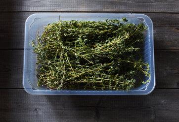 Box of fresh thyme - KSWF01777
