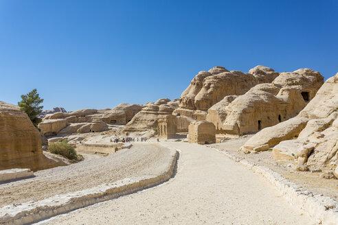 Jordan, Petra, Djinn Blocks at rock-cut city - MABF00427