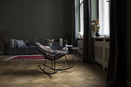 Rocking chair in a modern living room - RBF05484