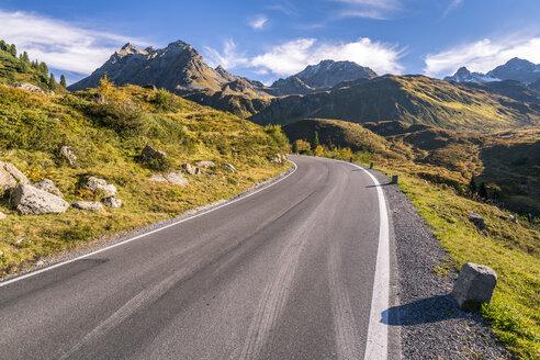 Austria, Montafon valley, Silvretta High Alpine Road - STSF01173