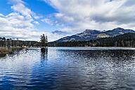 Austria, Tyrol, view of Schwarzsee - THAF01875