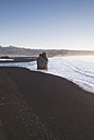 Iceland, South Iceland, Vik Rock on Reynisfjara beach - EPF00224