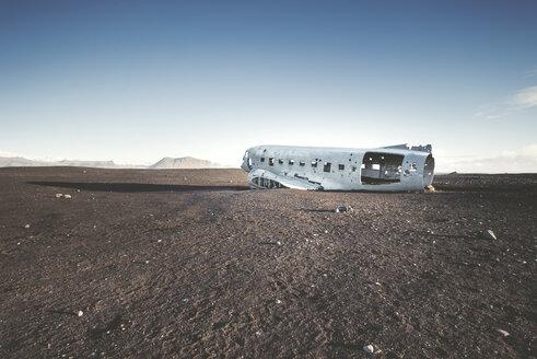 Iceland, Solheimasandur, plane wreck in the desert - EPF00230