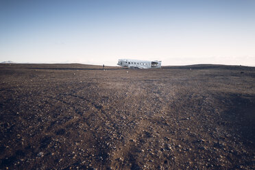 Iceland, Solheimasandur, plane wreck in the desert - EPF00233
