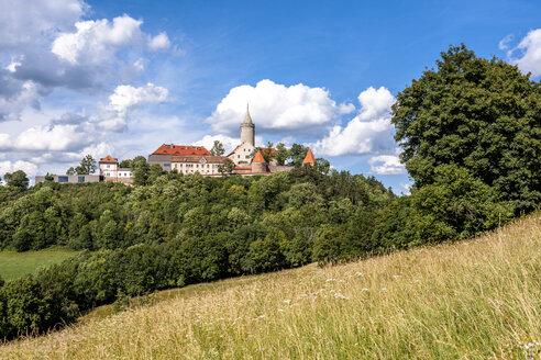 Germany, Thuringia, Seitenroda, Leuchtenburg Castle - EGB00157
