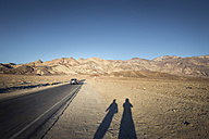 USA, California, Death Valley, Artist's Drive at sunset - EPF00236