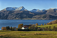 Norway, landscape at Sognefjord - KLR00490