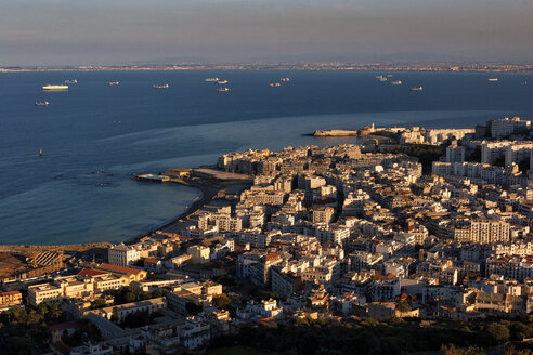 Algeria, Algier, view to the city from above - DSGF01416