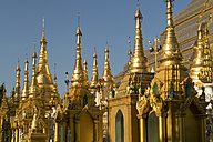 Myanmar, Yangon, Shwedagon Pagoda - PCF00306